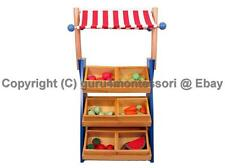 NEW Montessori Practical Life - Small Market Stall (Fruit Stand) Complete Set