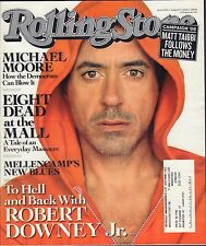 Rolling Stone August 21 2008 Robert Downey Jr. w/ML EX 032216DBE