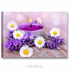 Zen fiori benessere 2 QUADRO MODERNO 70x50 SPA QUADRI STAMPA TELA ARREDAMENTO