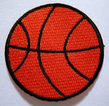 BASKETBALL BALL B-BALLS HOOP SPORTS Embroidered Iron on Patch Free Postage