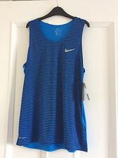 Mens Nike Running Vest DRI FIT Medium