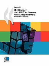 Civil Society and Aid Effectiveness: Findings, Recommendations and Goo-ExLibrary