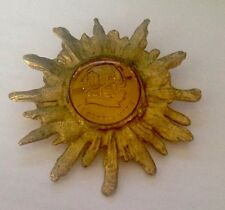 VEUVE CLICQUOT PONSARDIN PORTRAIT BROOCH OF LA GRAND DAME USED