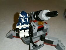 Lego Star Wars Commander Wolffe Phase 2 Armor  Custom figure with Cannon Set