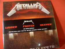 "METALLICA "" MASTER OF PUPPETS ""(LIMITED/180GRAM/45-RPM-DOUBLE-LP/FACTORY SEALED)"