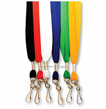 2 NEW Flat NECK Lanyards - STRAP - ID/Badge = ON SALE!