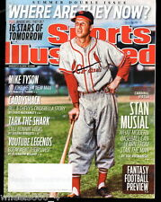 2010 Sports Illustrated St. Louis Cardinals Stan Musial Subscription Issue Exc