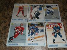1993-94 CLASSIC HOCKEY DRAFT # 39 MARKUS KETTERER Hockey Card