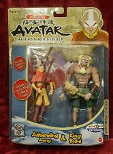 Avatar: The Last Airbender - King Bumi & Aang Nickelodeon Action Figure - Sealed