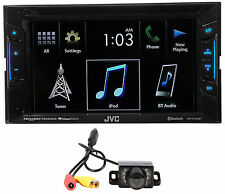 "JVC KW-V130BT 6.2"" 2-Din DVD Player Receiver w/Bluetooth iPhone/Android+Camera"