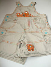 NEWBORN BABY BOY OR GIRL MULTI COLOUR DUNGAREES FOR 6 - 9 MONTHS FROM GEORGE