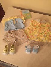 AMERICAN GIRL Twins Bitty Baby Twins Day at the Park OUTFITS Boy/ Girl