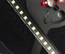 50pcs LED TV screen repair Backlight Lamp Beads Cold White LG 2W 6V 3535 200mA