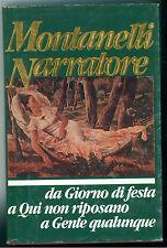 MONTANELLI NARRATORE EUROCLUB 1989 GIORNO DI FESTA QUI NON RIPOSANO