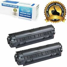 2 PK For Canon 125 Replacement Toner Cartridge for Canon imageCLASS MF3010