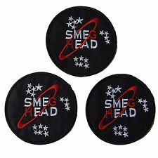 Red Dwarf Television Show Smeg Head Embroidered Patch Set of 3