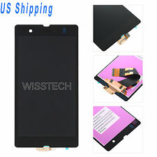 For Sony Xperia Z C6602 C6603 C6606 L36 L36h LCD Screen Digitizer Assembly Black