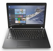 "New Lenovo Ideapad 100 15.6""HD Intel N2840 2.58GHz 4GB 500GB USB3.0 DVDRW W10 1Y"