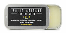 Solid Cologne Felix Scent 0.5oz in Travel Tin