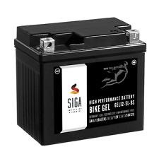 SIGA 5Ah GEL Motorrad Batterie YTX5L-BS 120A/EN Motorradbatterie GEL 12-5L-BS