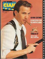 [MAB14] RIVISTA CIAK ANNO 1987 NUMERO 9 KEVIN COSTNER