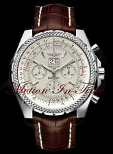 Breitling Bentley Motors 6.75 Stainless Steel 48mm WhiteSilver Storm Dial A44362