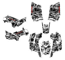 Polaris Scrambler 850 1000 Graphics ATV Sticker Kit Digital Camo Gray Metal