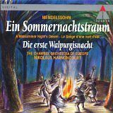 LN= Mendelssohn A Midsummer Night's Dream Ein Sommernachtstraum Harncounoncourt