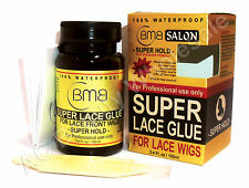 BMB Salon Super Lace Glue For Lace Wigs 100% Waterproof 3.4 Fl.Oz/ 100ml + Bonus