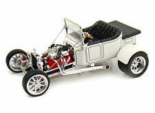 1923 Ford T-Bucket Convertible, White - Yatming 92828 - 1/18 Scale Diecast Car