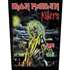 Iron Maiden Killers Album Jacket Back Patch Official Heavy Metal Backpatch New