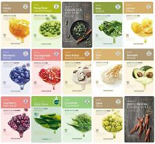 The Face Shop Real Nature Mask Sheet 8EA Korean Moisture Essence Pack Skin Care