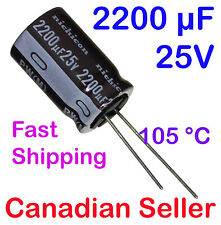 2200uF 25V 16x25mm PW Nichicon Low Impedance For TV LCD LED POWER SUPPLY