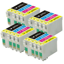 16 Ink Cartridges XL for Epson WorkForce WF-3640DTWF WF-7610DWF WF-7620TWF