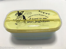 Japanese Lunch Box, Bento FrenchBullDog Made in Japan lunch kit lunch pail #001