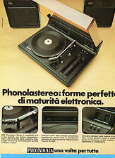 (AM) EPOCA975-PUBBLICITA'/ADVERTISING-1975- PHONOLA 2907 COMPLESSO STEREO 4