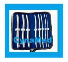 "8 HEGAR DILATOR SOUNDS SET 7.5""GYNO SURGICAL INSTRUMENTS    German Stainless"