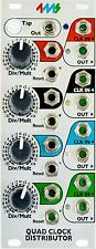 4ms Quad Clock Distributor QCD : Eurorack Module : NEW : [DETROIT MODULAR]