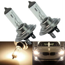 2pcs H7 Xenon Halogen 55W 12V Car Front Headlight Light Bulbs Lamp Super Bright