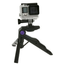 Mini Universal Travel Hand Pistol Grip Stabilizer Stand Holder Tabletop Tripod