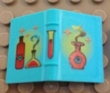LEGO HARRY POTTER - Light Turquoise Book 2 x 3 with Red Bottles Pattern