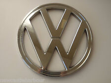 VW Camper t2 FRONT BADGE CROMO-BAY WINDOW 1973-79 Emblema Bus Bay Van tipo 2 +