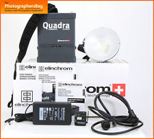 Elinchrom Quadra Ranger RX Hybrid Kit with 1x S Head Kit +  Free UK Post