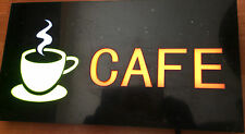 TOP QUALITY RESIN LED CAFE SHOP SIGN DISPLAY WINDOW LIGHT