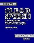 Clear Speech Teacher's resource book: Pronunciation and Listening Comprehension