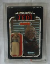 Star wars vintage rotj 1983 squid cardée tête 77 back afa 80 y-nm 85/75/90