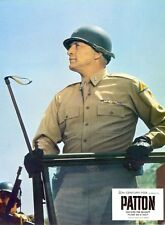 General PATTON Original SECOND WORLD WAR II 2 ARMY Lobby Card 1 GEORGE C SCOTT