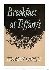 BREAKFAST AT TIFFANY'S CLASSIC BOOK COVER POSTER 59 x 84CM POSTER NEW