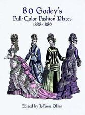 80 Godey's Full-Color Fashion Plates (1838-1880)-ExLibrary