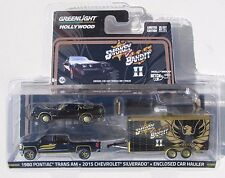 GREENLIGHT HOLLYWOOD HITCH & TOW SERIES 1 SMOKEY AND THE BANDIT II SET